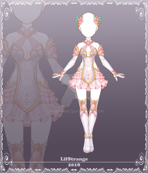 Adoptable Outfit 196 by LifStrange