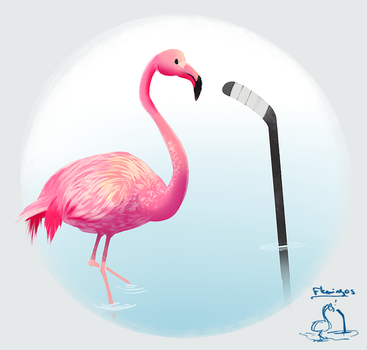 150504 HAU Flamingos by PataYoh