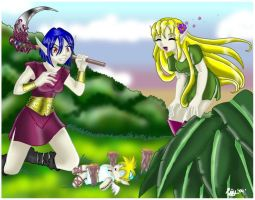 PE - Libia and Dauthia by roxxy-chan