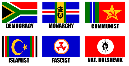 Alternate Flags of South Africa by wolfmoon25
