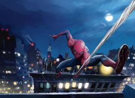 The amazing Spiderman by Dan-Mora
