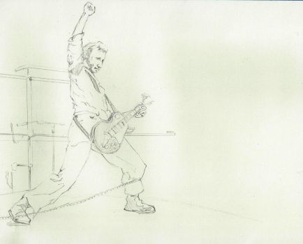 Pete Townshend WIP by PedTuron