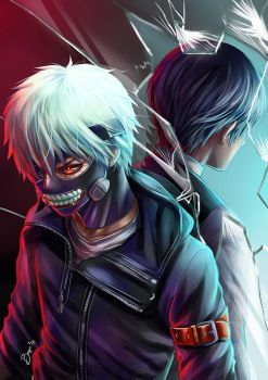 Tokyo Ghoul - The Other Side of the Mirror by Bayou-Kun
