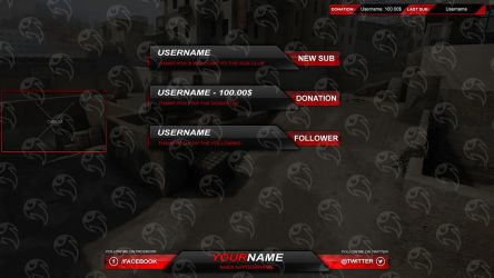 Streamity.gg - Overlay (Package) - #002 by streamity