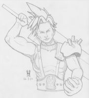 Cloud Strife by TheGreenCount