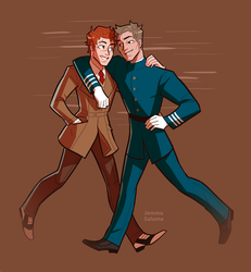 Jack and Oliver by oxboxer