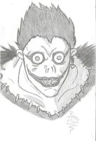 Death Note Ryuk sketch by DovahkiinRuvaak