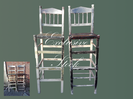 Exclusive stock - Bar stools by DinowCookie
