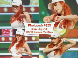 Photopack #228 - KIm HyunA by YuriBlack