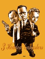 3 Headed Gangster by Devilpig