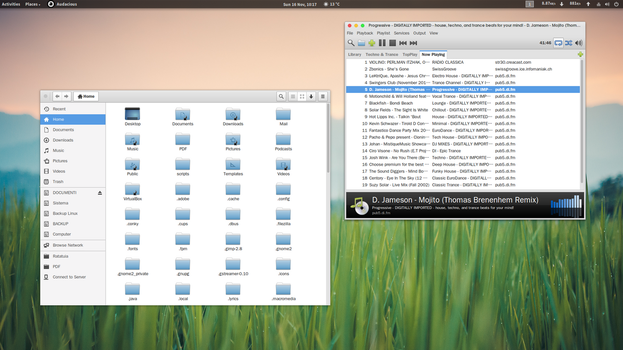Mosemite (Gnome 3.14) by dasnoopy