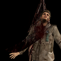 Stabbed by Pyramid head..again by drakl0r
