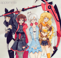 RWBY by Appleminte