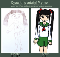 Improvement Meme O,O by Reinohikari