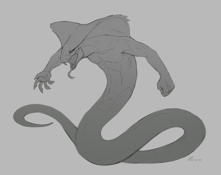 Sketch : Cobra by FeysCat