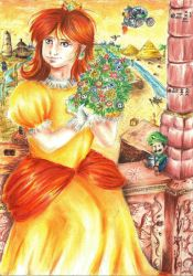 Ode to the Princess Of Sarasaland by Rosa-Lynda