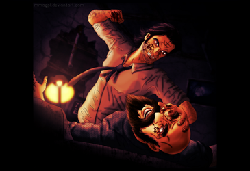 Wolf vs Woodsman - The Wolf Among Us - Fables by MmagPL