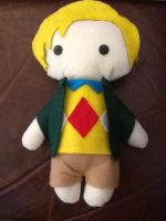 Mr. Chinnery Plushie by jasmineofderpsalot