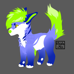 Lineless Wolf Auction #6 (OPEN) by Khida-Nix