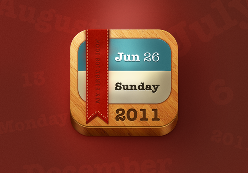Calendar Icon by nsamoylov