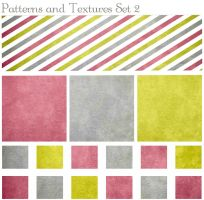 Patterns and Textures Set 2 by ibjennyjenny