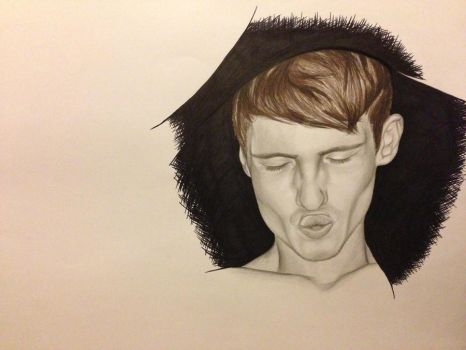 Illustration for art coursework by bengray94