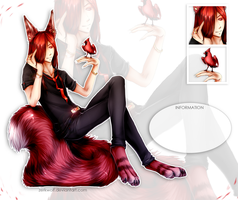 Red Cardinal- adoptable auction (CLOSED) by ZerkWolf