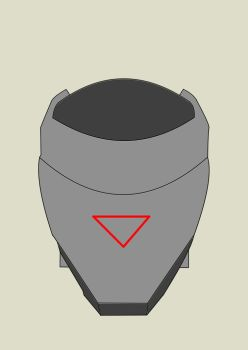 Helm Concept 02 Front by PhantomX999