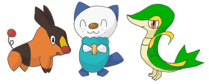 Request: Starter Pokemon by FelineFanatic
