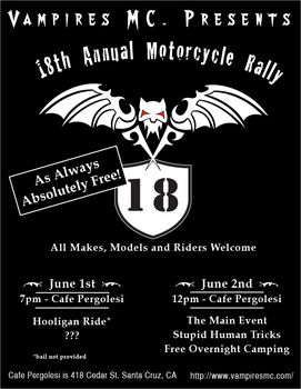 18th Rally Flyer by TransElf