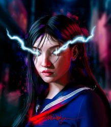Thunder Girl by KevinMonje