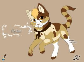 Dylan Kitty by Kamis-Cafe