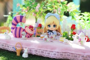 Alice's Tea Party by Awesomealexis1