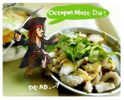 Octopus Must Die by amoykid
