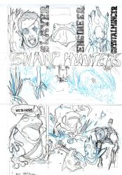 Swamp Hunter Pencils by SippingTea