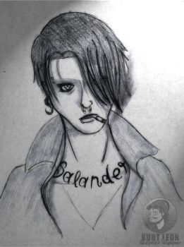 Lisbeth Salander by KurtLeon