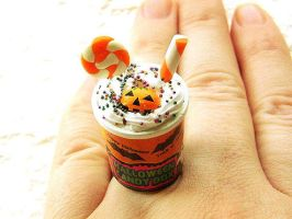 Halloween Ice Cream Ring by souzoucreations