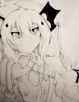 Krul Tepes: Black and White Version by CassidyLeora