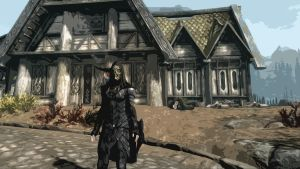 The Whiterun Assassin by Cloudoh