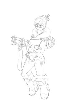 Mei from Overwatch by XIII-C