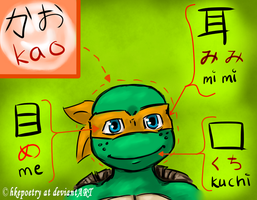 Mikey's face by hkepoetry