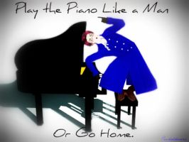 This is How a Real Man Plays the Piano by pandahkawaii