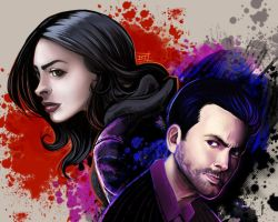 Jessica Jones by Of-Red-And-Blue