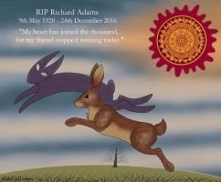 RIP Richard Adams by WinterFrostDragon