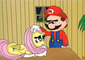 Mario and Fluttershy 6 by TMan5636