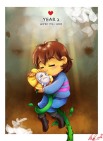 Happy 2nd Anniversary, Undertale by C-Puff