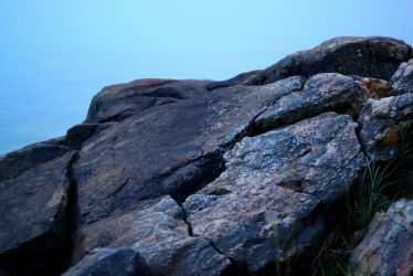 On the rocks by Lolias
