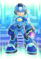 Megaman 2018 V2 by ultimatemaverickx