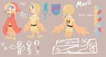 Marii's Reference Sheet by Scarlet-Ajani