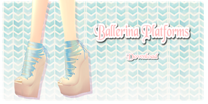 Ballerina Platforms - MMD Download by Shiremide1